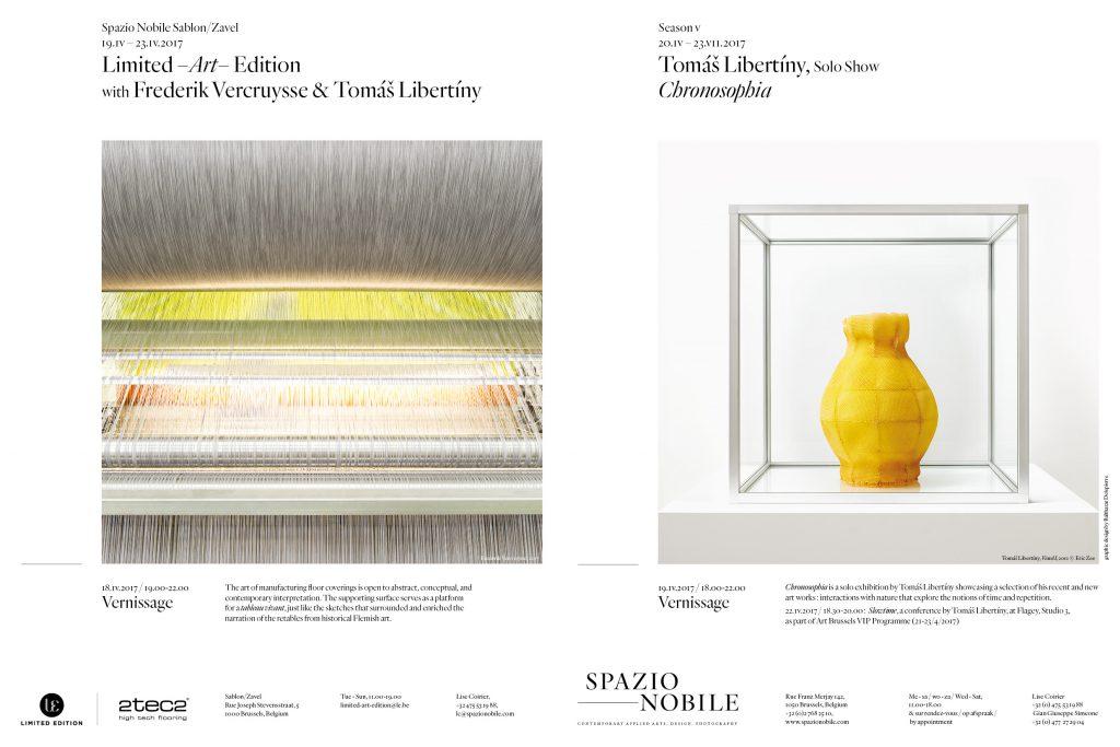 Spazio Nobile Exhibitions April