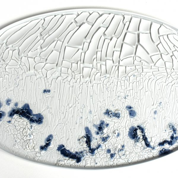 2017 Example of landscape on oval dish Piet Stockmans